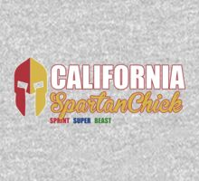 California Spartan Chick red/gold by CertainDeath
