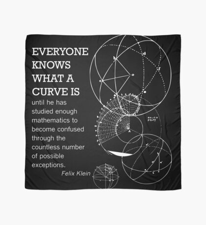 Math Quote Scarf