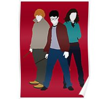 Harry, Ron and Hermione - Harry Potter Poster