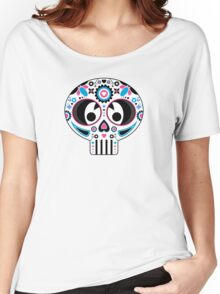 Mexican 'Day of the Dead' Skull  Women's Relaxed Fit T-Shirt