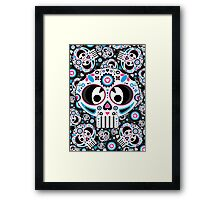 Mexican 'Day of the Dead' Skull  Framed Print