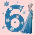 Disney Frozen Elsa 6th Birthday by sweetsisters