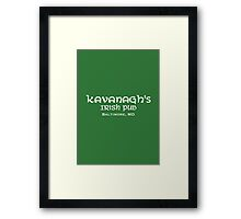 The Wire - Kavanagh's Irish Pub Framed Print