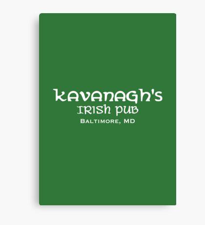 The Wire - Kavanagh's Irish Pub Canvas Print