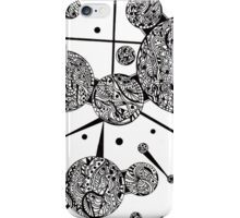 Ink Pattern Drawing 1 iPhone Case/Skin