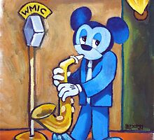 Playing The Blues by Robert Holewinski