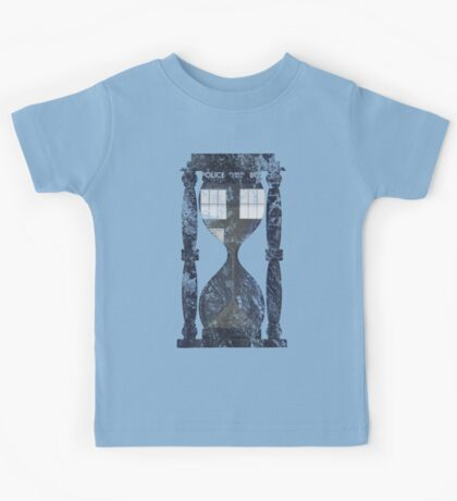 The Tardis Time Lord Timer Kids Tee