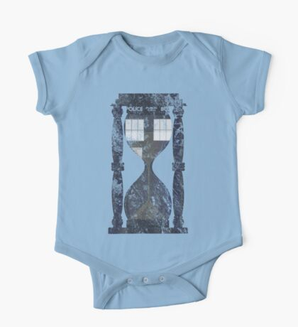The Tardis Time Lord Timer One Piece - Short Sleeve