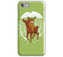 Deer Rider iPhone Case/Skin