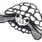 turtle drawing by Perggals© - Stacey Turner