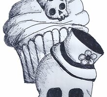 skull cupcake 2 by Perggals© - Stacey Turner