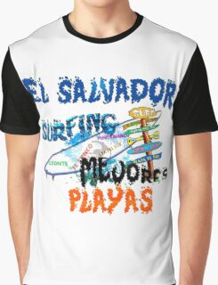 Mejores Playas para surf Graphic T-Shirt