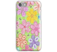 Flowers and Bees iPhone Case/Skin