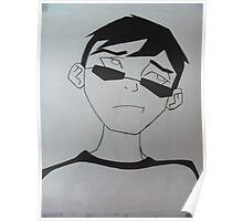 Young Justice Robin Civies Poster