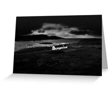 The Gathering Storm Greeting Card