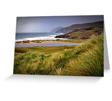 A Highlands Beach Greeting Card
