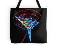 Neon Martini Tote Bag