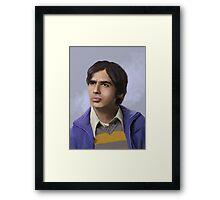 Koothrapali Framed Print