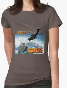 sky diving point break 2015 movie Womens Fitted T-Shirt