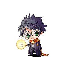 Harry Potter cute chibi by shrekalicios