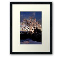 Crystal Christmas Framed Print