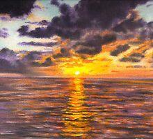 Ocean Sunset by HandsonHart