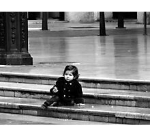 Baby Steps .. Photographic Print