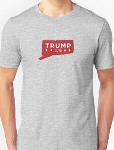 Donald Trump 2016 State Pride - Connecticut T-Shirt