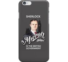 Mycroft iPhone Case/Skin