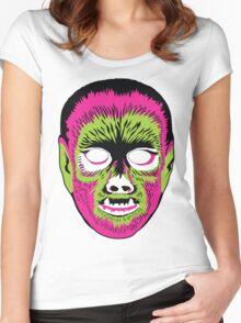 Werewolf Mask Women's Fitted Scoop T-Shirt