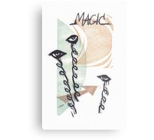 Magic Eyes Metal Print