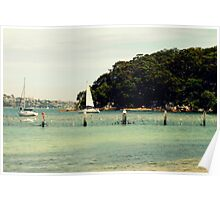 A Day Out... Sailing  Poster