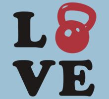 Kettlebell Love For Crossfit Kids Clothes
