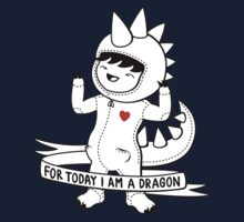 For today I am a dragon Kids Tee