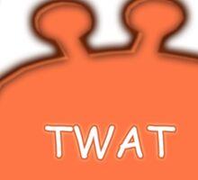 Twat Crab (as seen in Derek) Sticker