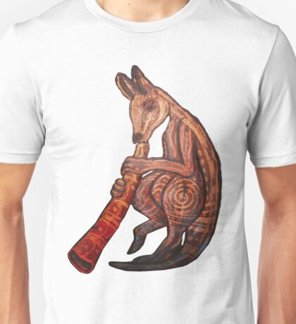 Didgeridoo Kangaroo Unisex T-Shirt