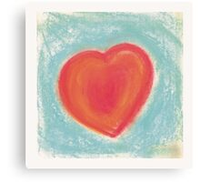Heart for my Valentine Canvas Print