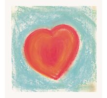 Heart for my Valentine Photographic Print