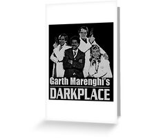 Garth Marenghi's Darkplace Greeting Card