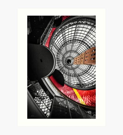 Coops Shot Tower Art Print