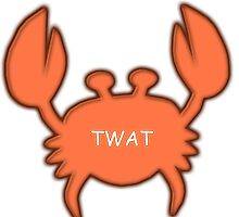 Twat Crab (as seen in Derek) by TWATcrab