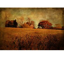 Rural House  Photographic Print