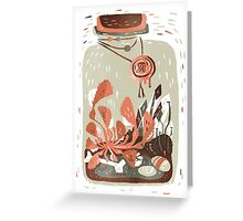 Venus Terrarium Greeting Card