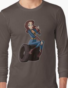 Nuka Cola Vault Girl Long Sleeve T-Shirt