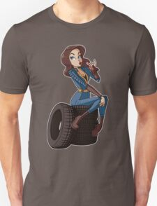 Nuka Cola Vault Girl Unisex T-Shirt
