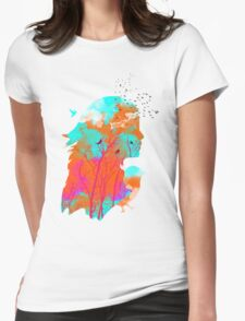 Autumn Nightfall Womens Fitted T-Shirt