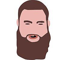 Bearded guy Photographic Print