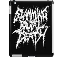 Slamming Brutal Death Metal iPad Case/Skin