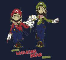 Super Walking Dead Bros. by SuperDeano
