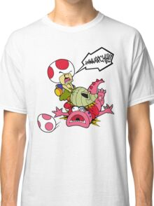 Toad's Vegetable Fury! Classic T-Shirt